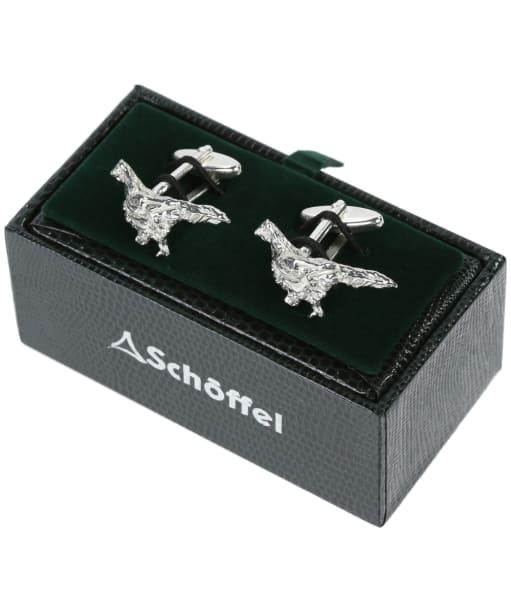 Men's Schöffel Cufflinks - Pewter Pheasant