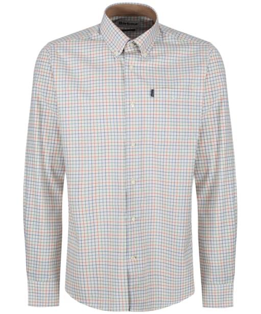 Men's Barbour Charles Tailored Fit Shirt - Burnt Orange Check
