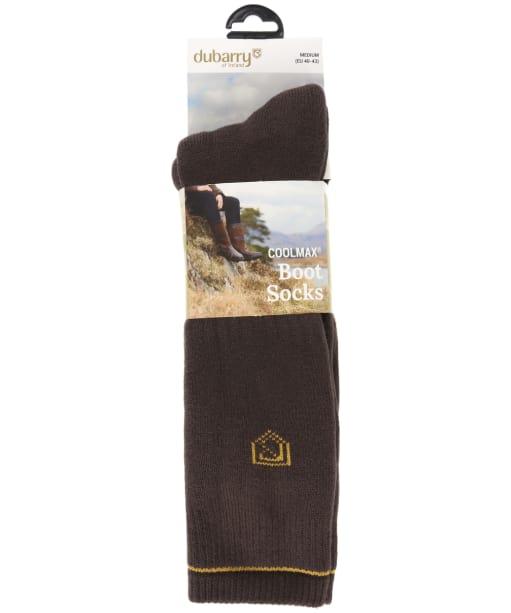 Dubarry Short Boot Socks - Brown
