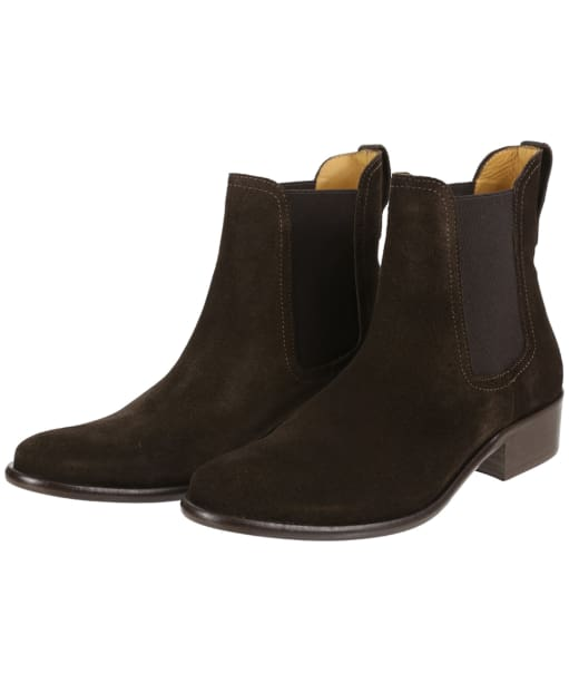 Women's Fairfax and Favor Suede Chelsea Boot - Chocolate Suede