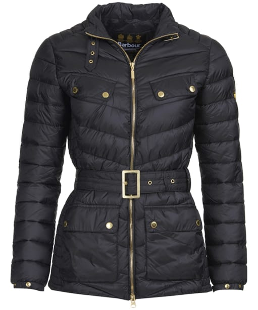Women's Barbour International Gleann Quilt - Black