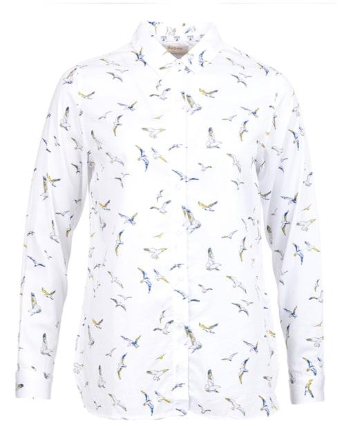 Faeroe Printed Shirt - White Seagull