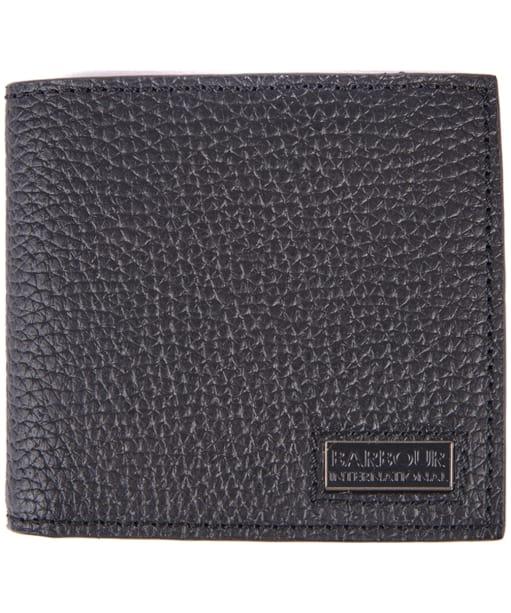 Men's Barbour International Billifold Wallet - Black