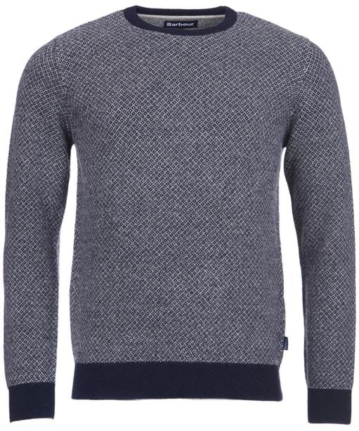 Men's Barbour Calvay Crew Neck Sweater - Navy