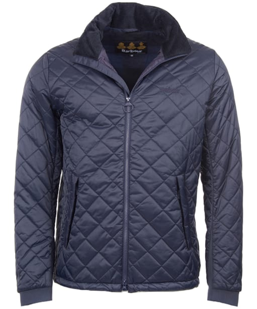 Men's Barbour Pennel Quilted Jacket - Navy