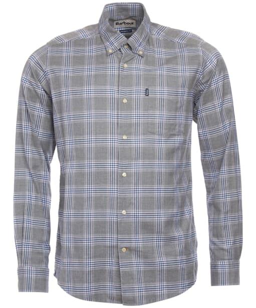 Men's Barbour Louis Shirt - Grey Marl