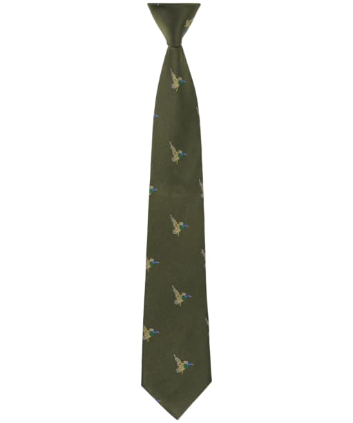 Men's Soprano Green Flying Ducks Tie - Country Green