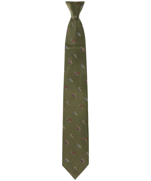 Men's Soprano Fishing Flies Tie - Olive