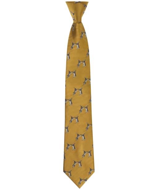 Men's Soprano Boxing Hares Tie - Gold