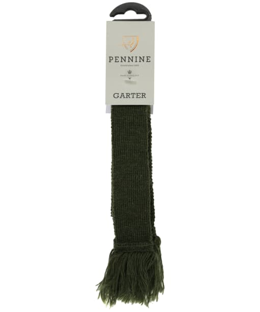 Pennine Plain Garter - Olive