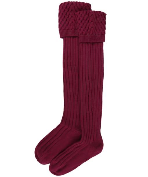 Pennine Chelsea Socks - Raspberry