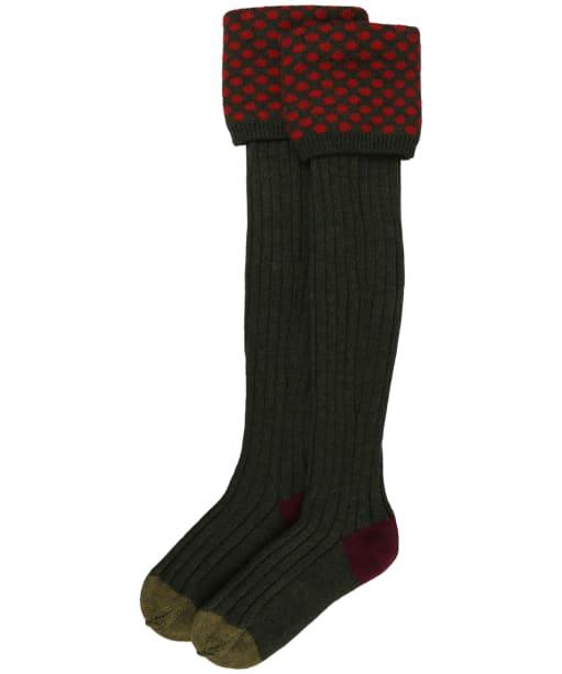 Pennine Viceroy Shooting Socks - Hunter