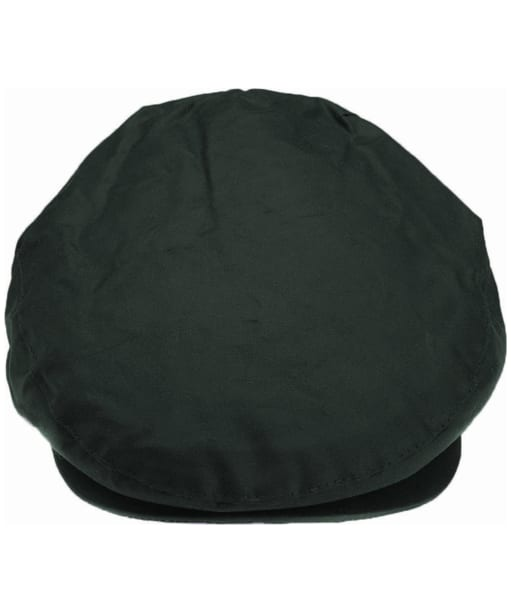 Men's Barbour Waxed Flat Cap - Sage