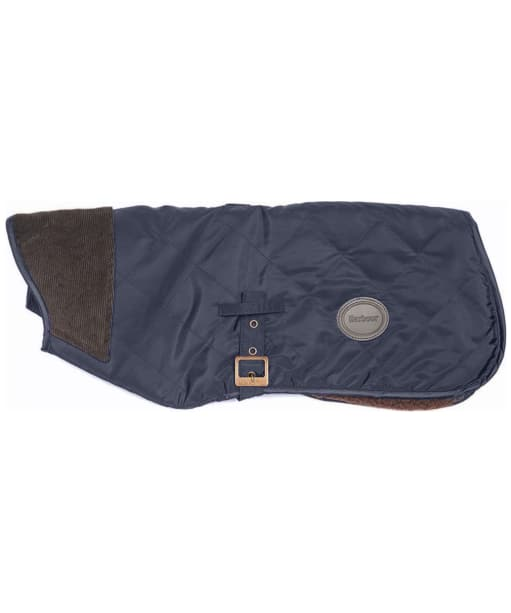 Barbour Quilted Boy Dog Coat - Navy