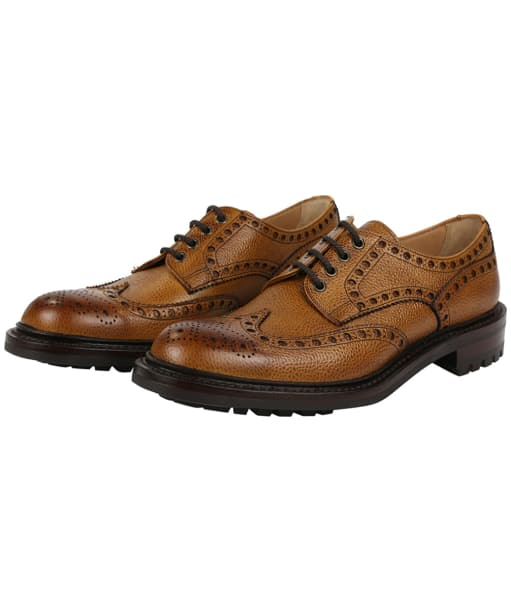 Men's Cheaney Avon C Wingcap Country Brogue - Almond