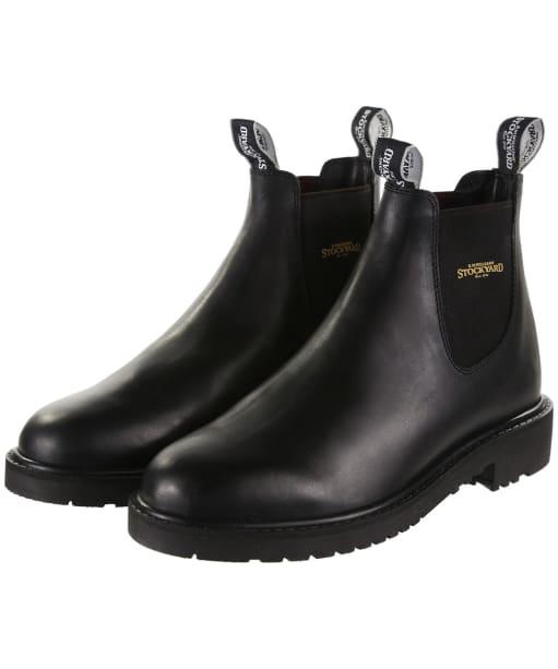 Men's R.M. Williams Stockyard Boots - Black