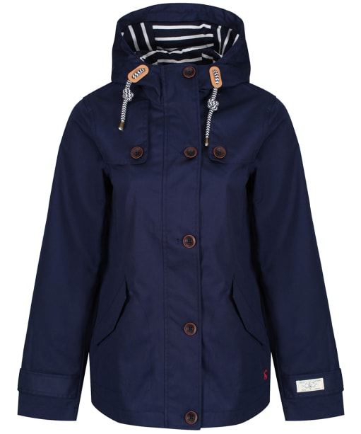 Women's Joules Coast Waterproof Jacket - French Navy