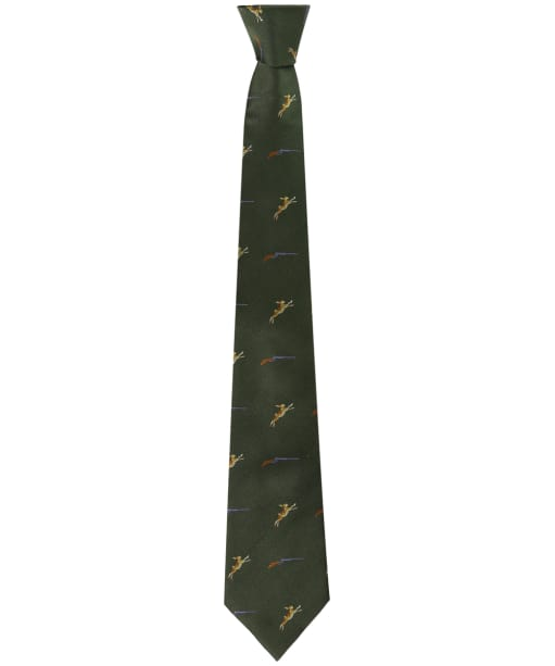 Men's Soprano Hares and Shotgun Tie - Green