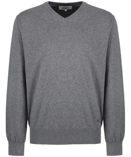 Men's Dubarry Carson V-neck Sweater - Grey