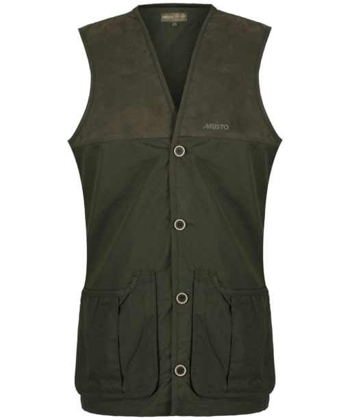 Men's Musto Shooting Vest - Dark Moss