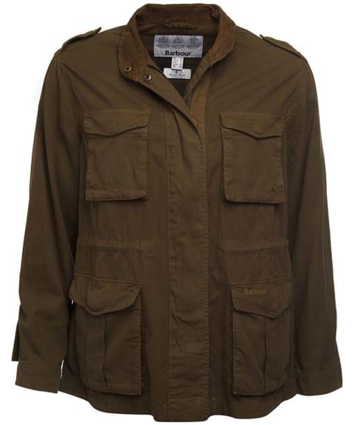 Women's Barbour Chorlton Jacket - Mid Olive