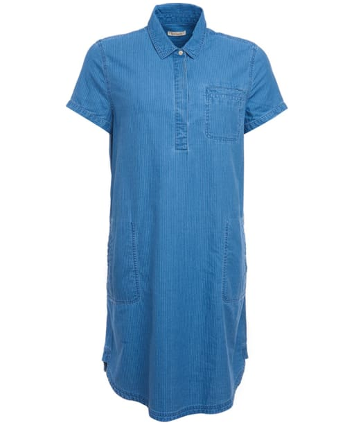 Women's Barbour Littlehaven Dress - Mid Blue
