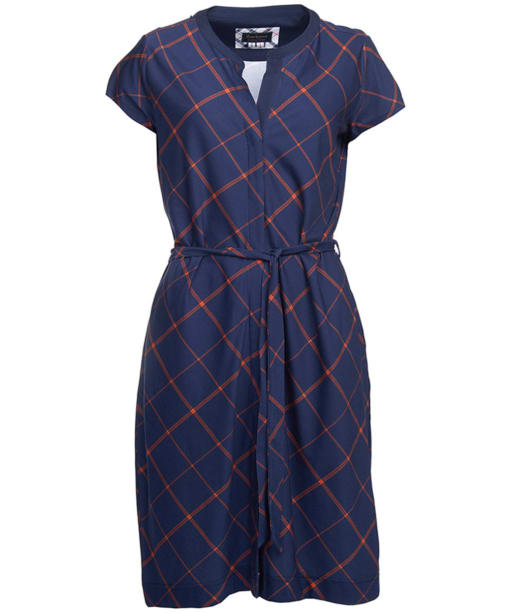 Women's Barbour Glenrothes Dress - Navy Check