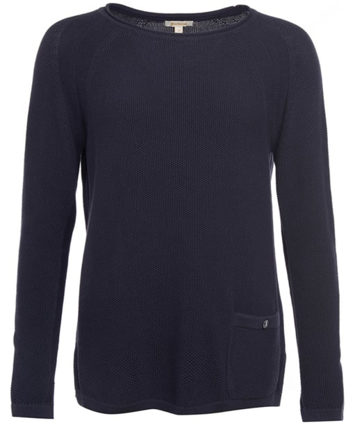 Women's Barbour Pembrey Knitted Sweater - Navy