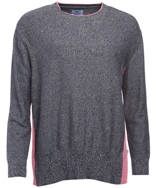 Women's Barbour Sadie Side Knit Sweater - Navy