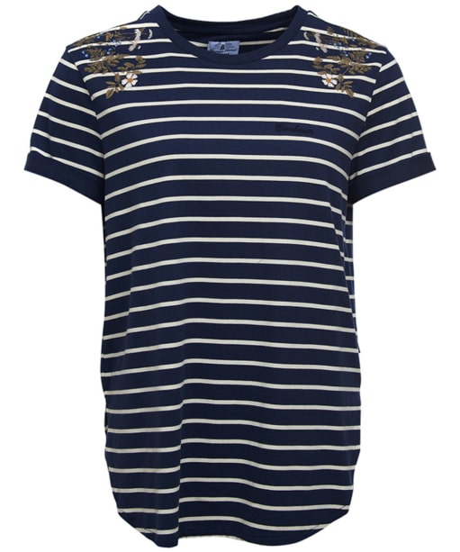 Women's Barbour Wildflower Tee - Dress Blue