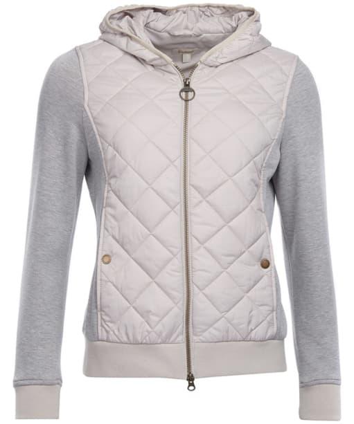 Women's Barbour Brimham Sweater Jacket - Mist