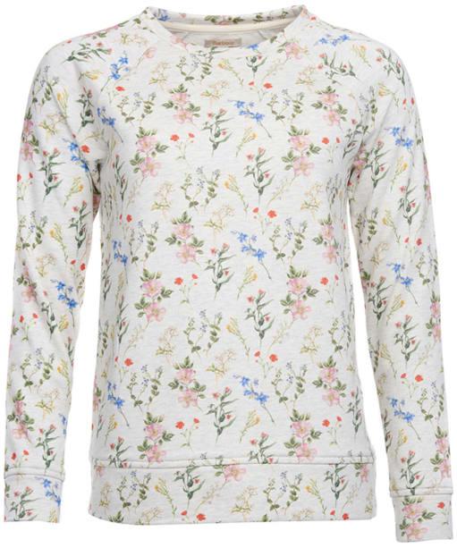 Women's Barbour Moorfoot Sweatshirt - Cloud Marl