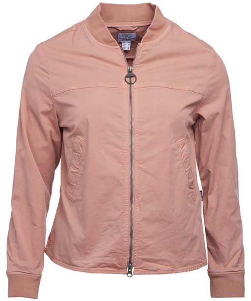 Women's Barbour Mabel Overshirt - Blush Pink