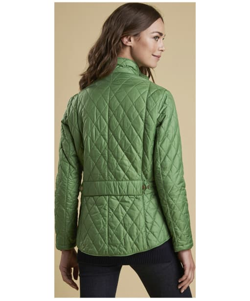 Women's Barbour Flyweight Cavalry Quilted Jacket - Clover
