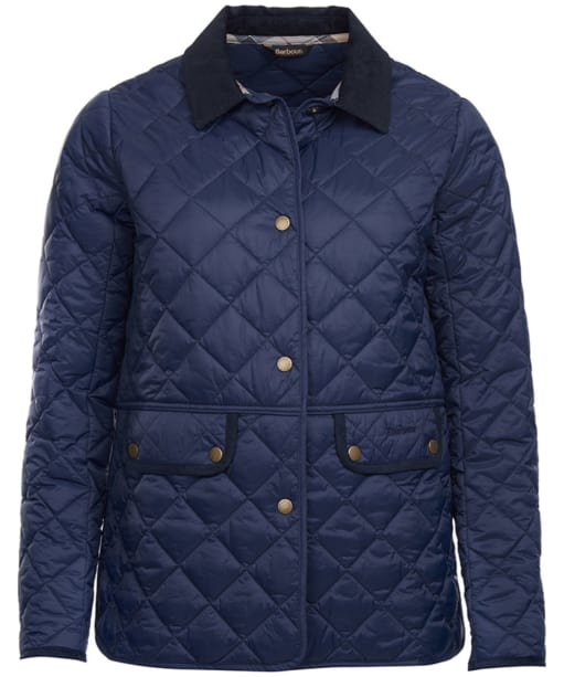 Women's Barbour Brimham Quilted Jacket - Navy