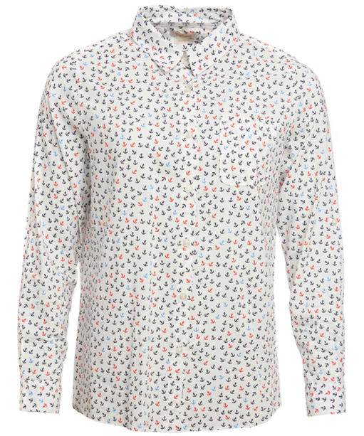 Women's Barbour Whitby Printed Shirt - White Print