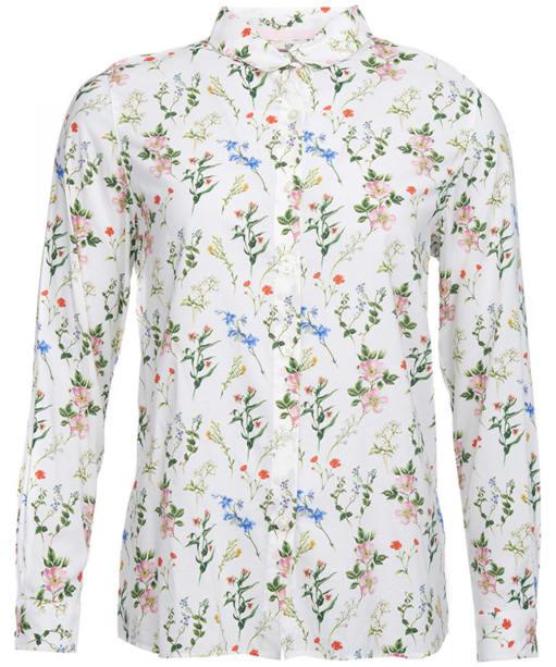 Women's Barbour Brimham Shirt - Cloud Floral Print