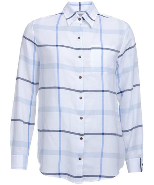 Women's Barbour Oxer Shirt - Blue