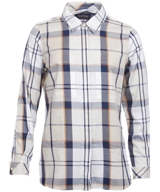 Women's Barbour Blantyre Shirt - Summer Mist Tartan