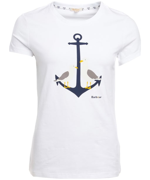 Women's Barbour Whitmore Tee - White