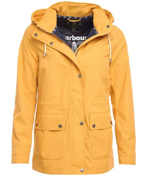 Women's Barbour Hawkins Waterproof Jacket - Canary Yellow