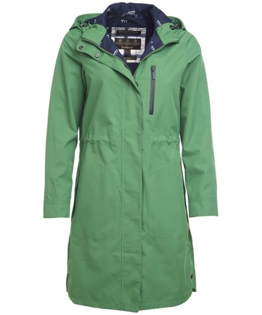 Women's Barbour Sleet Waterproof Jacket - Clover