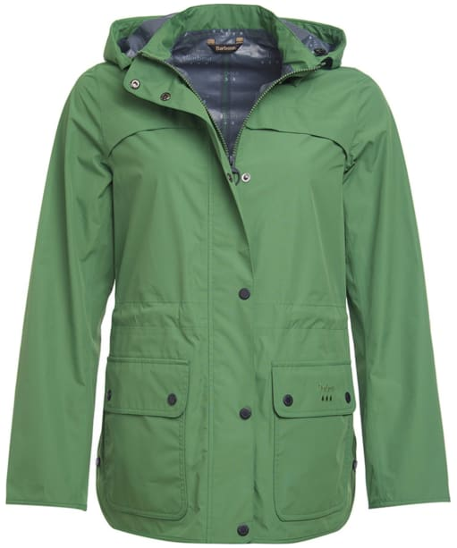 Women's Barbour Barometer Waterproof Jacket - Clover
