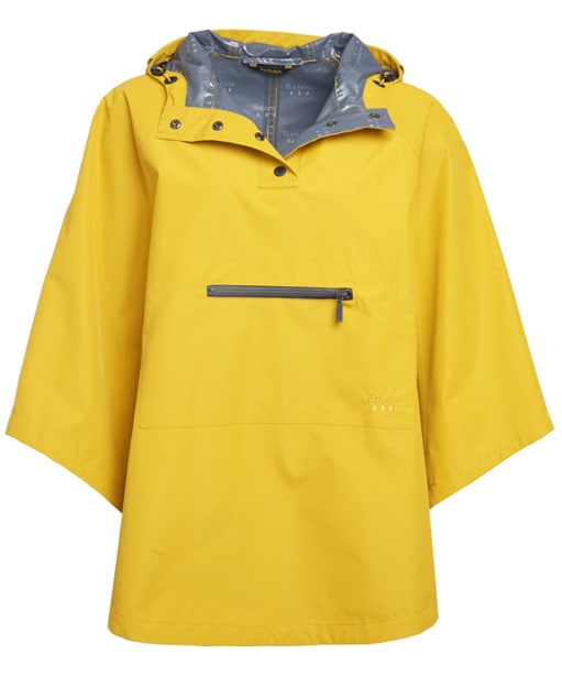 Women's Barbour Alto Waterproof Cape - Canary Yellow