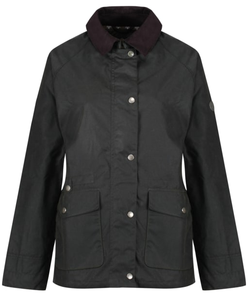 Women's Barbour Pembrey Wax Jacket - Sage