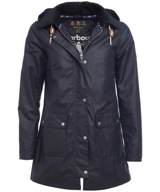Women's Barbour Whitmore Wax Jacket - Royal Navy