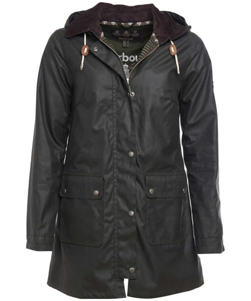 Women's Barbour Whitmore Wax Jacket - Sage
