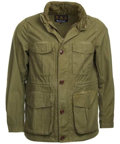 Men's Barbour Crole Jacket - Military Green
