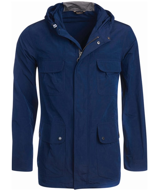 Men's Barbour International Pack Fishtail Parka Jacket - Blue