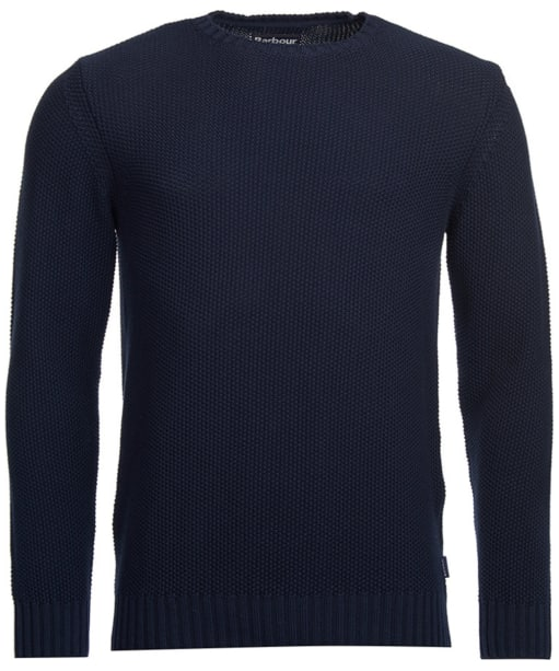 Men's Barbour Kelp Crew Neck Sweater - Navy